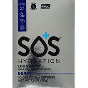 S.o.s Hydration Drink Mix, Berry