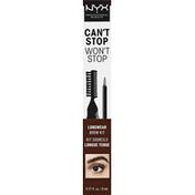 NYX Professional Makeup Longwear Brow Kit, Espresso