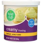 Food Club Lemon Creamy Frosting
