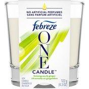 Febreze Candle Air Freshener, Lemongrass & Ginger