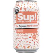 Sup! Organic Hard Seltzer Peach