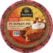 Boar's Head Dessert Hummus, Pumpkin Pie