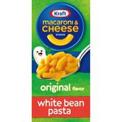Kraft Original Macaroni & Cheese Dinner with White Bean Added to the Pasta