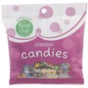 Food Club Sixlets, Classic Candies