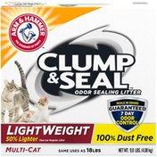 Arm & Hammer Clump & Seal Light Weight Multi-Cat Odor Sealing Cat Litter