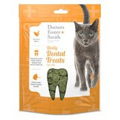 Doctors Foster + Smith Chicken Flavor Daily Dental Treats For Cats