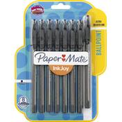 Paper Mate Pens, Ballpoint, 1.0 mm Medium Point, Black