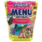 Vitakraft Vitamin Fortified Parrot Food for Macaws, Amazons, and Large Pet Birds