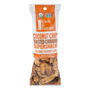 Made in Nature Organic Supersnacks Coconut Chips Toasted Cinnamon