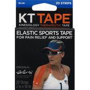 KT Tape Therapeutic Tape, Blue, Original