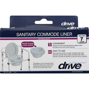 Drive Sanitary Commode Liner