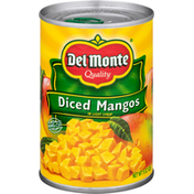 Del Monte Quality Diced Mangos in Extra Light Syrup
