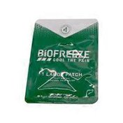 Biofreeze Fast Acting Menthol Pain Relief Large Patch