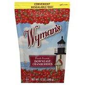 Wyman's Cranberries, Down East, Fresh Frozen