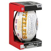 Players Rawlings Pittsburgh Steelers Signature Series Full Size Football - Pittsburgh Steelers