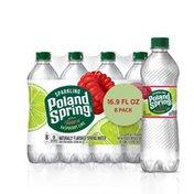 Poland spring Sparkling Water, Raspberry Lime