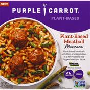 Purple Carrot Meatball Marinara, Plant-Based
