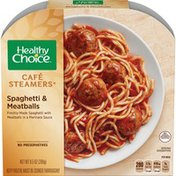 Healthy Choice Cafe Steamers Spaghetti And Meatballs