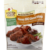 Foster Farms Honey Barbecue Glazed Chicken Wings, Fat Free