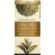 The Republic of Tea Oolong Tea, Double Milk, Bags