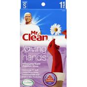 Mr. Clean Gloves, Super Premium, Extra Long, Size S