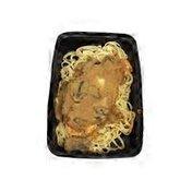 Weiland's Chicken Marsala With Linguine