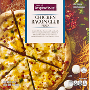 Taste of Inspirations Chicken Bacon Club Pizza