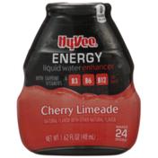 Hy-Vee Cherry Limeade Energy Liquid Water Enhancer
