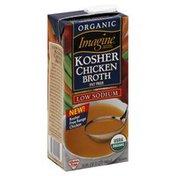 Imagine Chicken Broth, Free Range, Kosher, Low Sodium