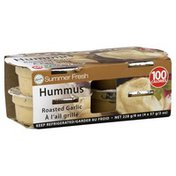 Summer Fresh Hummus, Roasted Garlic, 4 Pack