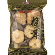 Shirakiku Mushrooms, Shiitake, Dried