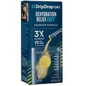DripDrop ORS Lemon Electrolyte Powder Packets