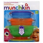 Munchkin Stay-Put Suction Bowls, 6+ Months