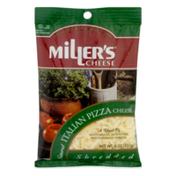 Miller's Cheese Shredded Italian Pizza Cheese