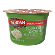 Idahoan Sour Cream & Chives Mashed Potatoes Cup