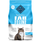 Blue Buffalo True Solutions Fab Feline Natural Indoor Adult Dry Cat Food, Chicken