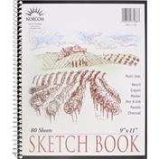 Norcom Sketch Book, Multi Use, 80 Sheets
