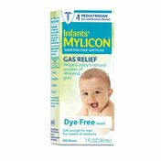 Mylicon Infants' Gas Relief Drops, Dye Free Formula