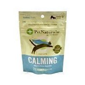 Pet Naturals of Vermont Calming Sugar Free Chicken Liver Flavored Chews for Cats
