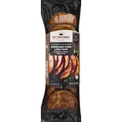 Big Shoulders Smokehouse Pork Loin Chop, Sweet & Smoky BBQ Sauce, Boneless