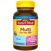 Nature Made Multivitamin For Her 50+ Softgels