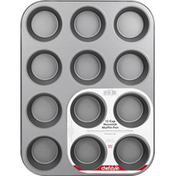ChefStyle Muffin Pan, Nonstick, 12 Cup