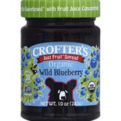 Crofter's Fruit Spread, Organic, Wild Blueberry