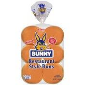 Bunny Bread Buns, Restaurant Style