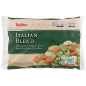 Hy-Vee Freshly Frozen Italian Blend With Zucchini, Cauliflower, Carrots, Italian Green Beans & Lima Beans