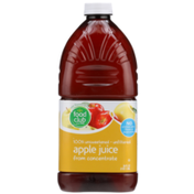 Food Club 100% Unsweetened Unfiltered Apple Juice From Concentrate