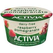 Activia Raspberry Pomegranate Almond Milk Yogurt Alternative