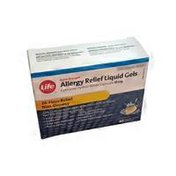 Life Brand Extra Strong Allergy Relief Liquid Gels