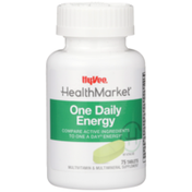 Hy-Vee Healthmarket, One Daily Energy Multivitamin & Multimineral Supplement Tablets