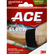 Ace Bakery Tennis Elbow Support, Adjustable, Moderate Support